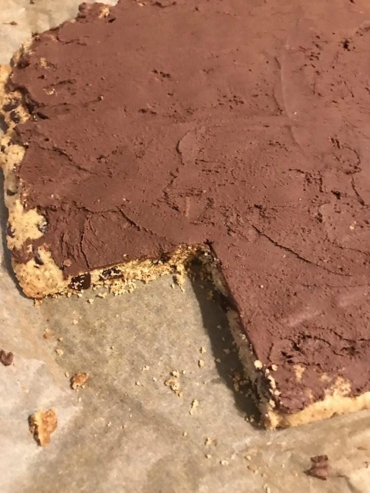 cut corner cookie sheet cake