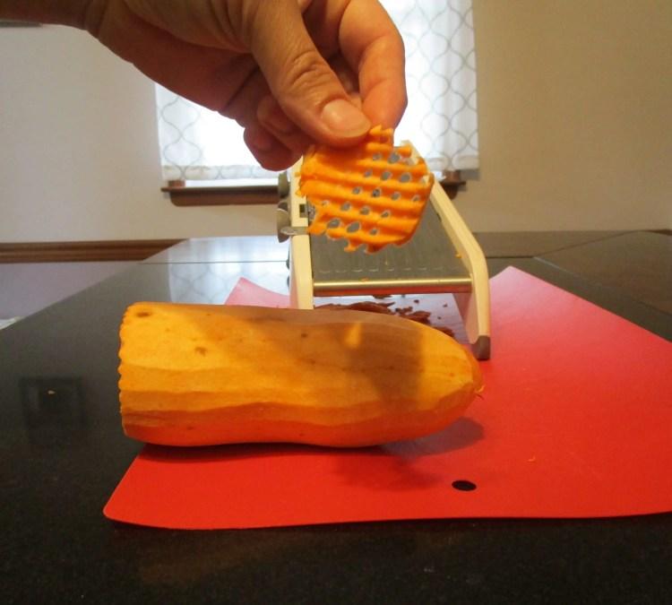 waffle cut chip