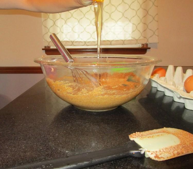 add eggs to creamed mixture yogurt pound cake