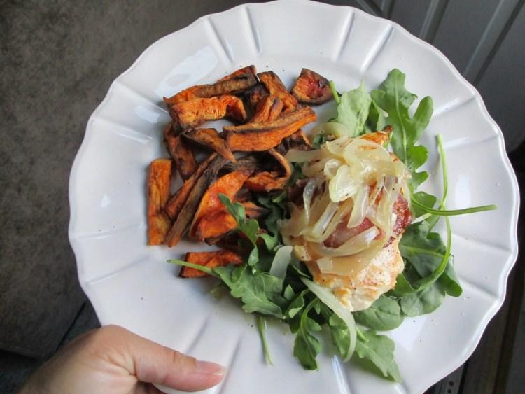 my dish 2 sweet potato fries