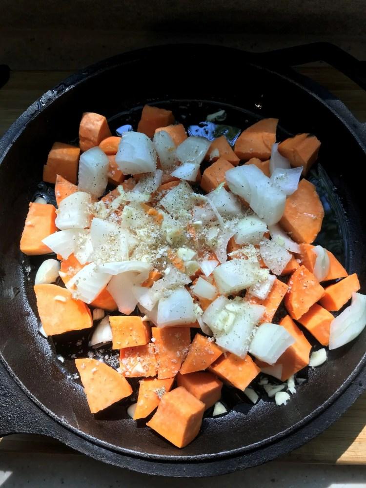 potato for egg hash