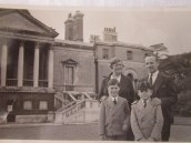 Elsie and Alf with John and Eric