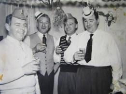John Harry Creak Walter and Eric Christmas late 50's west Dayton