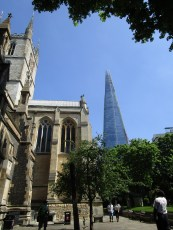 View from Cathedral garden where the smell of the street food waft in
