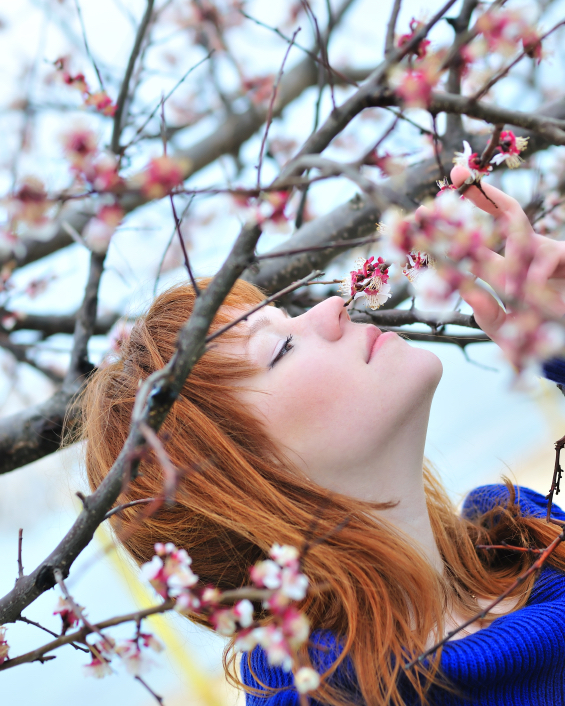 smell of spring