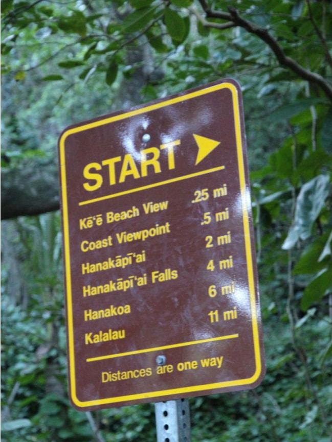 Hiking the Hanakapiai Fall Trail in Kauai