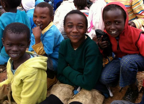 Some of my sweet friends from Compassion No. 755