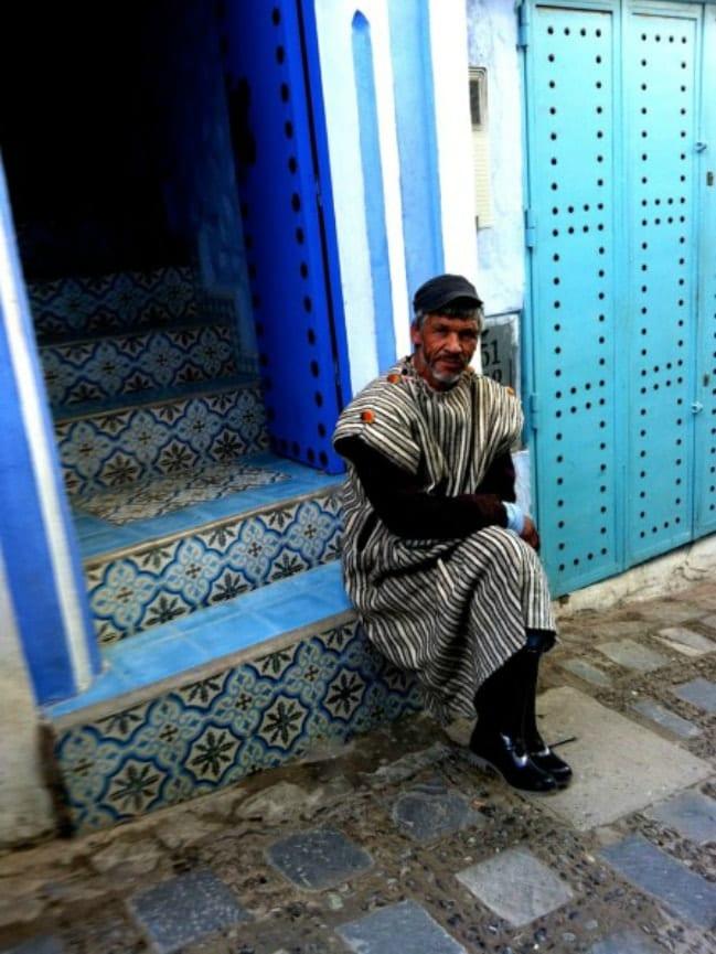 Feeling blue in Chefchaouen, Morocco