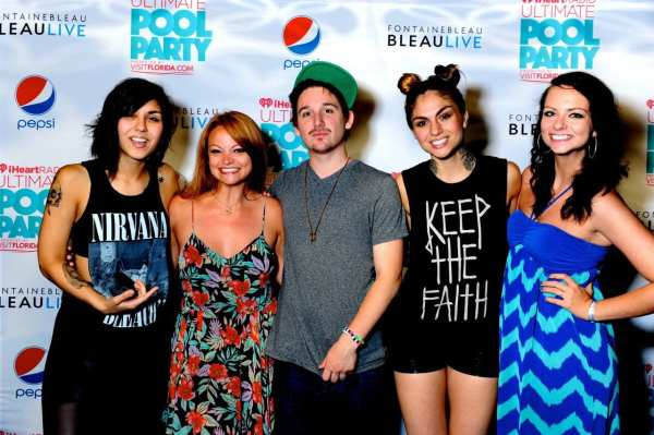 Meeting the Krewella sisters - should we be them for Halloween?