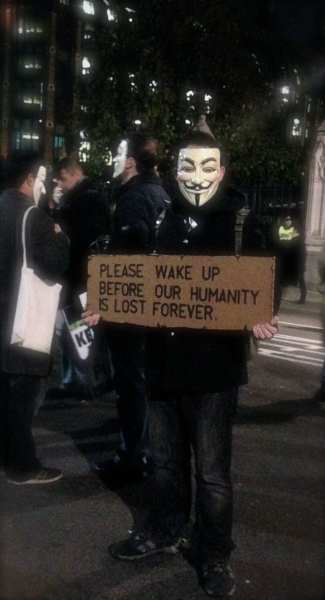 Guy Fawkes Protest London