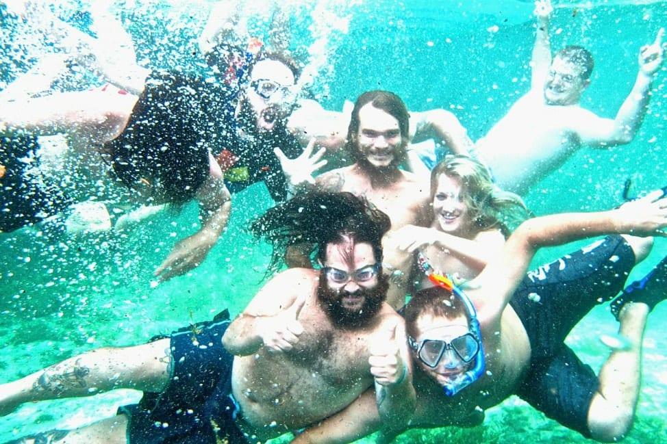Underwater photos at Ginnie Springs