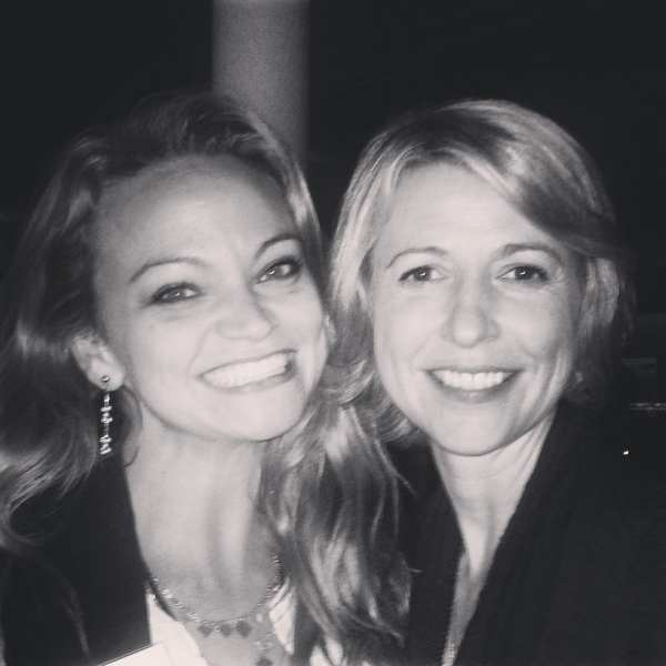 Angie Away & The Travel Channel's Samantha Brown at the White House Travel Blogger Summit