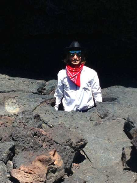 Cowboys & lava - what could be more natural?