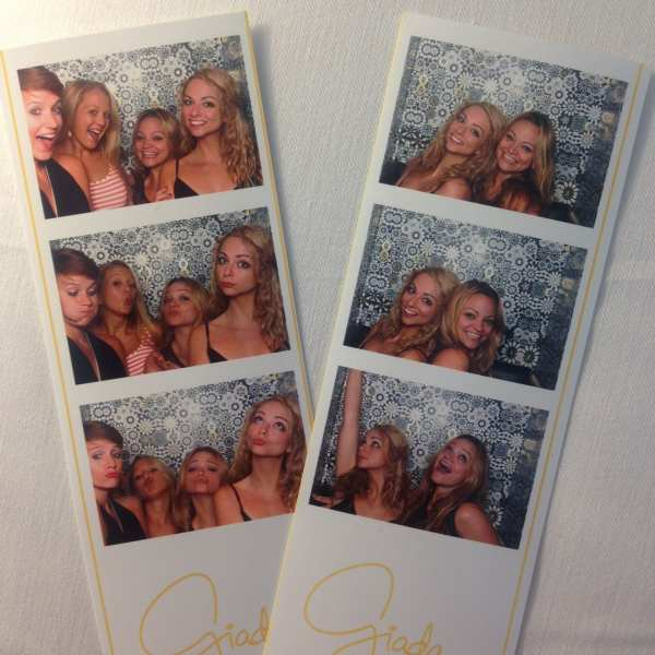 Hard to choose a favorite aspect of dinner at Giada... but the photo booth was pretty fun