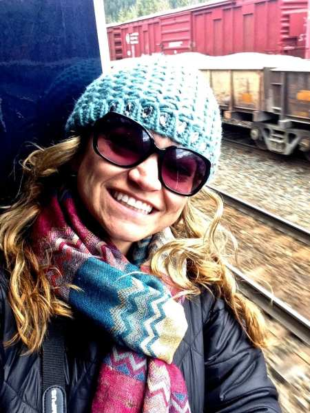 Angie Away on the Rocky Mountaineer