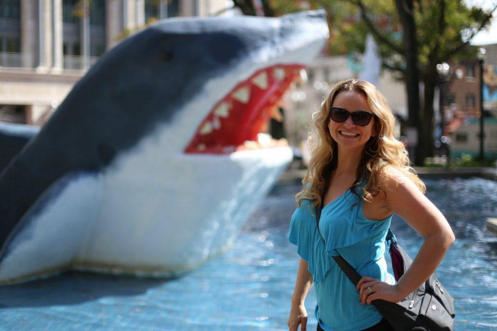 angie-orth-jacksonville-shark