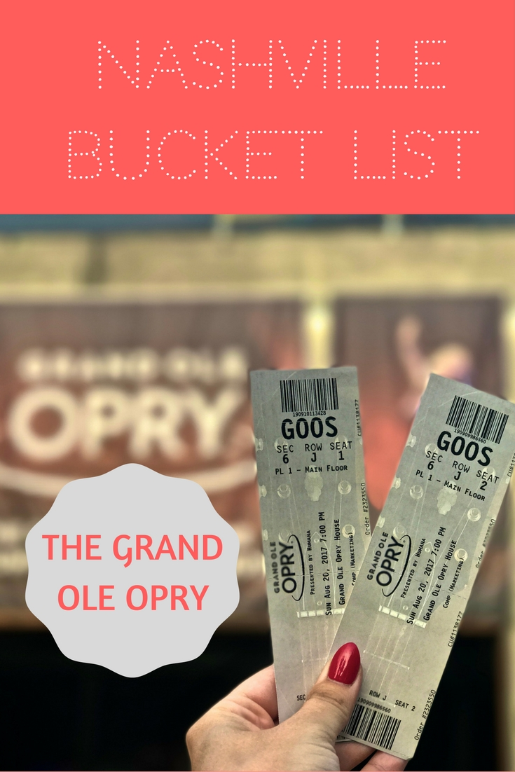 A night at the Grand Ole Opry in Nashville - country music's most famous music venue! Start planning a tour (and an outfit) today!