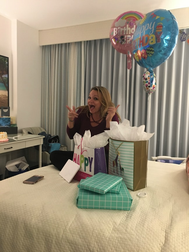 Angie's Birthday
