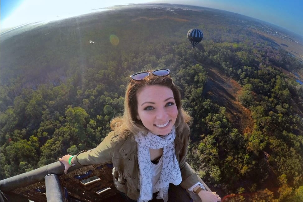 Hot Air Balloon ride over Orlando