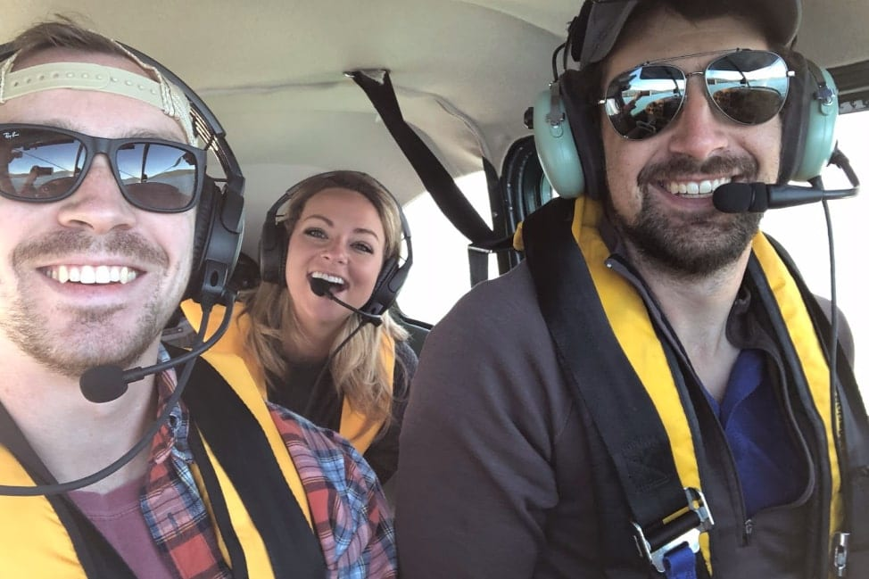Back country flying in whitefish montana