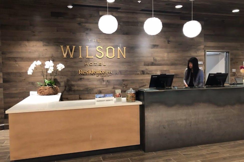 The Wilson Hotel in Big Sky Montana