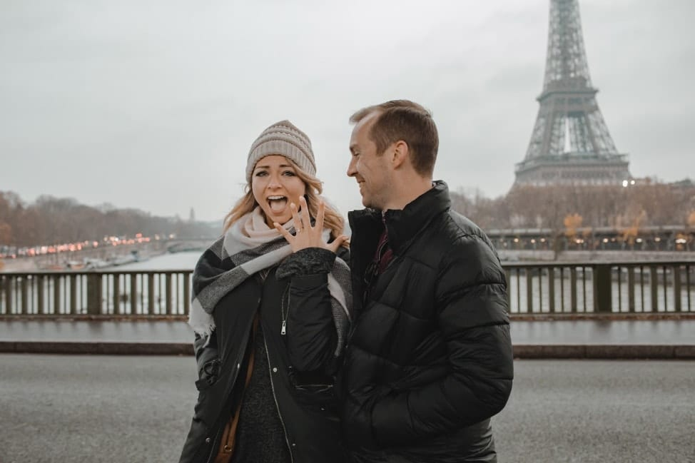 Getting engaged in Paris