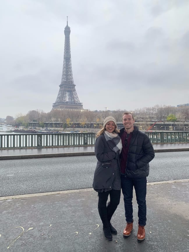 Best spot for Eiffel Tower photos in Paris
