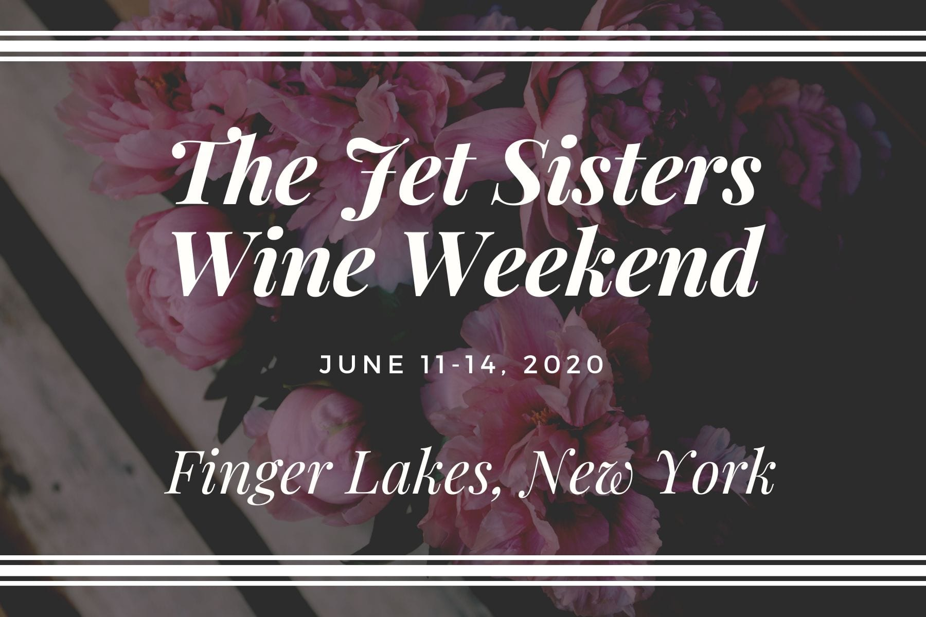 The Jet Sisters Finger Lakes Group Trip