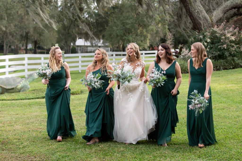 David's Bridal Juniper - Orlando Wedding