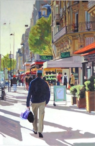 Le Douanniere, 120x 80cm, oil on canvas, Brooksby © 2013 sold