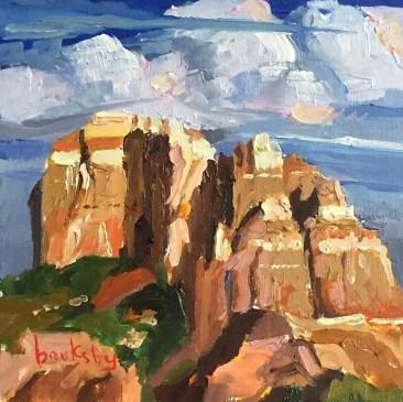 2 13x13cm, oil on canvas, ©2017 Angie Brooksby-Arcangioli