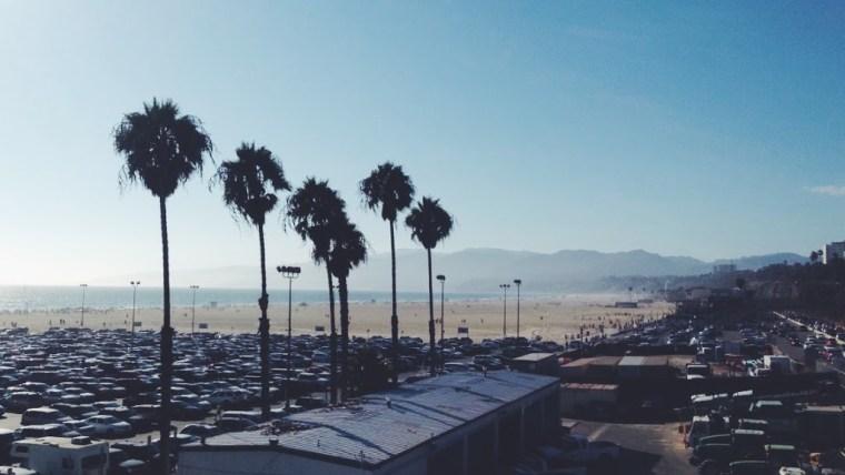 Vue de Santa Monica Pier