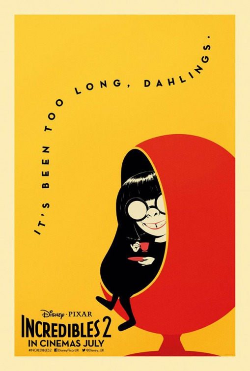 Edna Mode, designers des Indestructibles