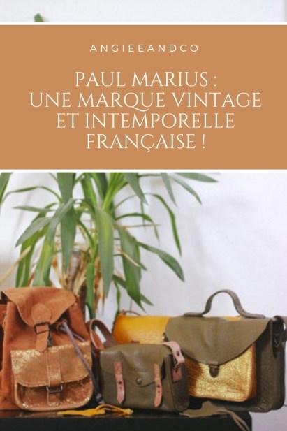 Epingle Pinterest pour mon article sur la marque Paul Marius