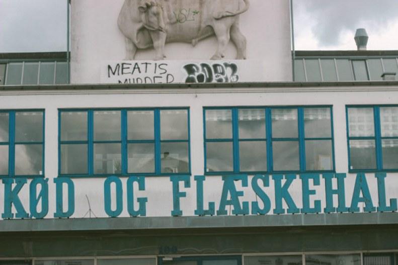 Restaurant de fruits de mer au quartier meatpacking de Copenhague