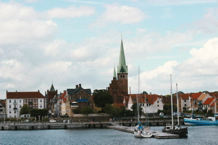 Une jolie vue sur la ville de Helsingør