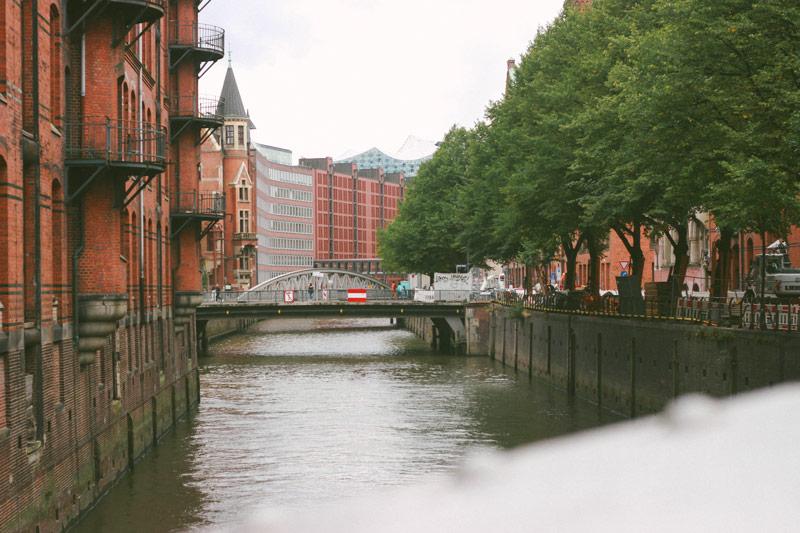 Le quartier des ouvriers d'Hambourg