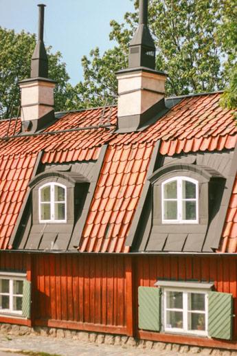 ancienne maison de Stockholm à Sodermalm