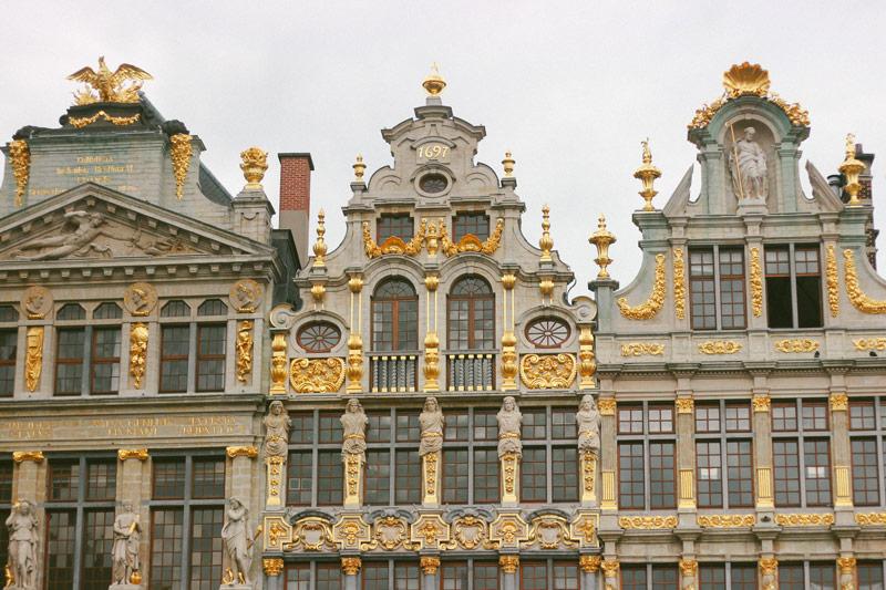 L'architecture de la Grande Place de Bruxelles