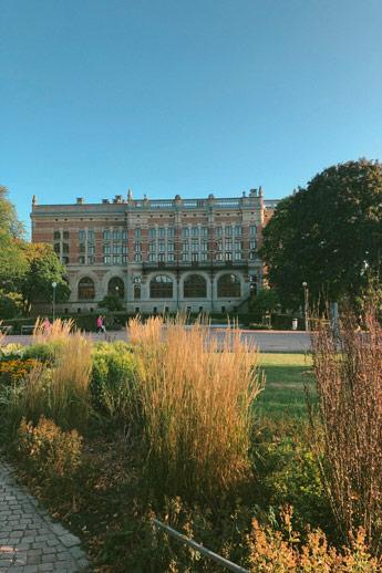 La bibliothèque de Göteborg