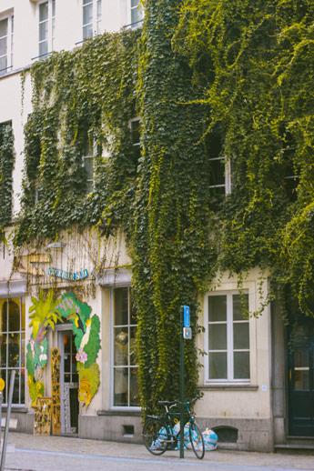 Les devantures de magasin à Bruxelles