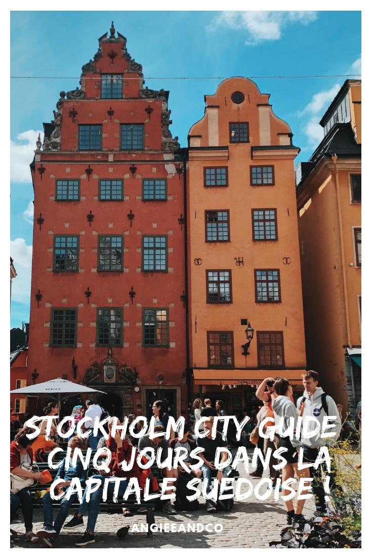 Epingle Pinterest pour mon article sur Stockholm