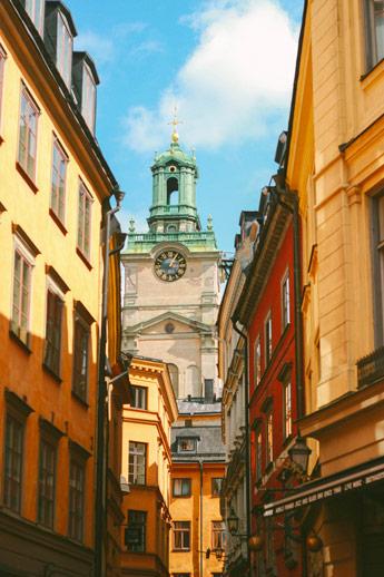 Stockholm Galan Stan, vieille ville