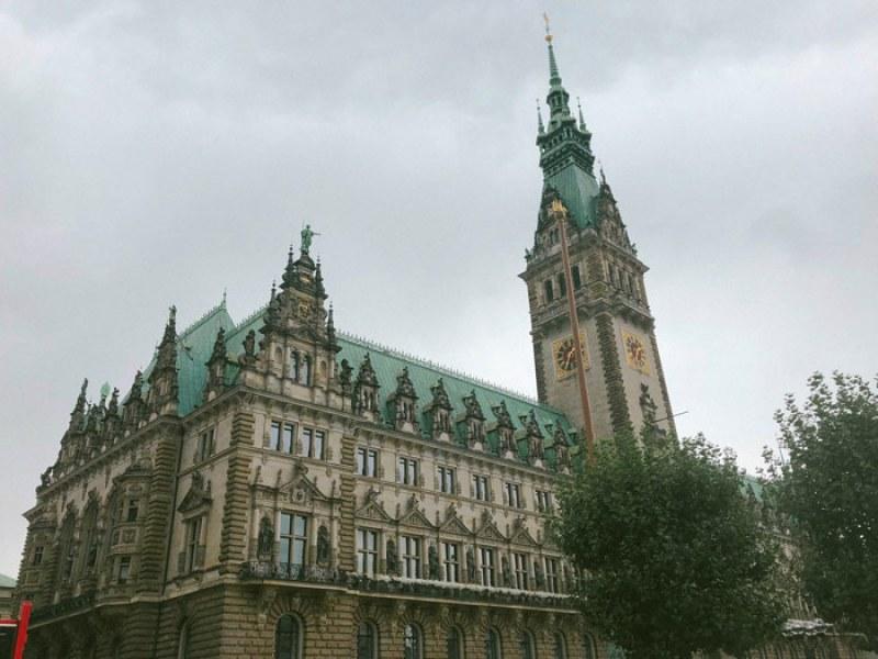Hôtel de ville d'Hambourg