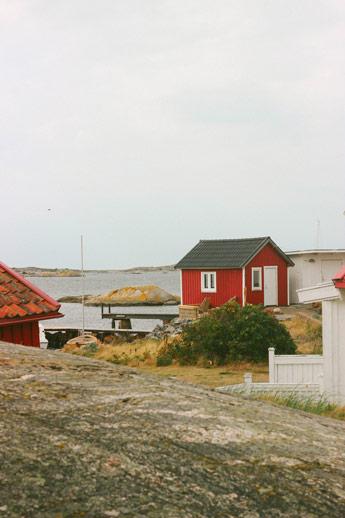 Cabanes rouges suédoises
