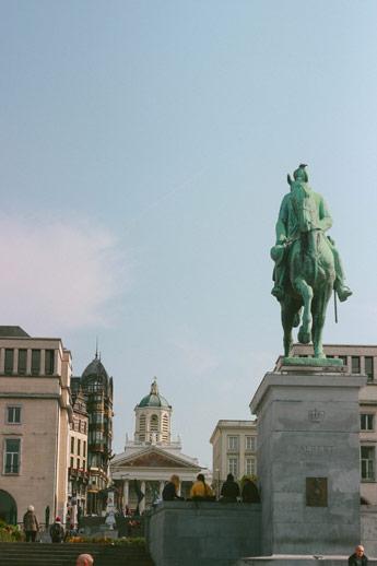 Le monts des Arts à Bruxelles