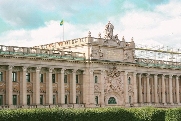 Palais de la diète royale de Suède
