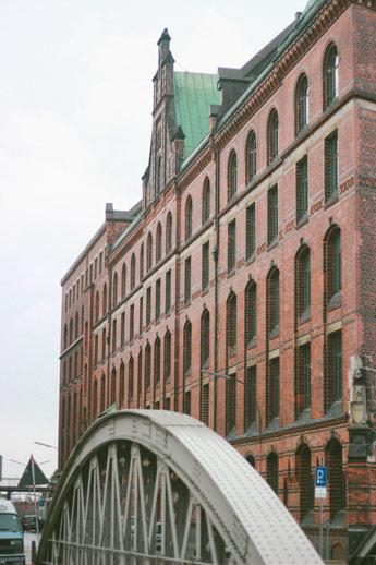 Speicherstadt à Hambourg