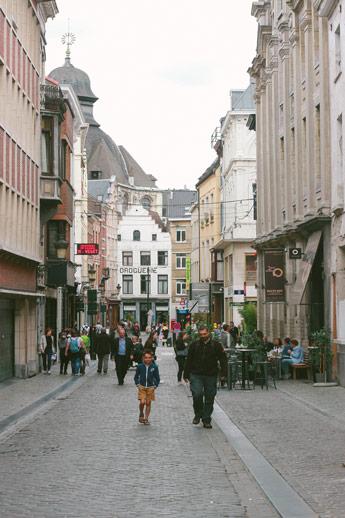 Les rues de Bruxelles