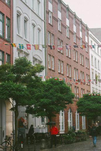 Les rues d'Hambourg